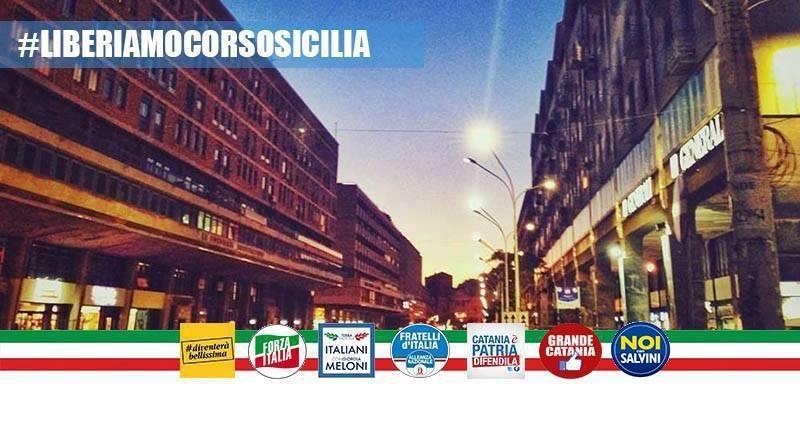 Raccolta firme per liberare Corso Sicilia dal degrado e dall'abusivismo