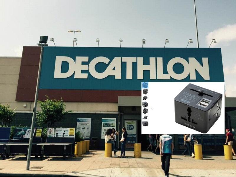 """Decathlon ritira prodotto """"pericoloso"""" per rischio scossa elettrica"""