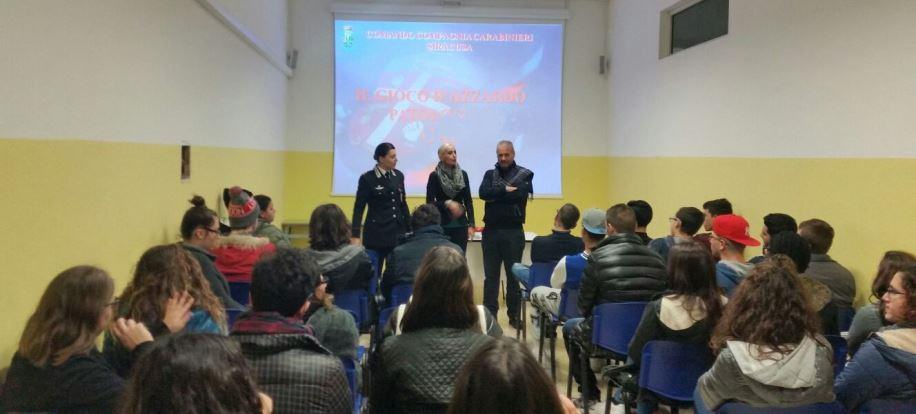 Carabinieri di Siracusa visitano le scuole