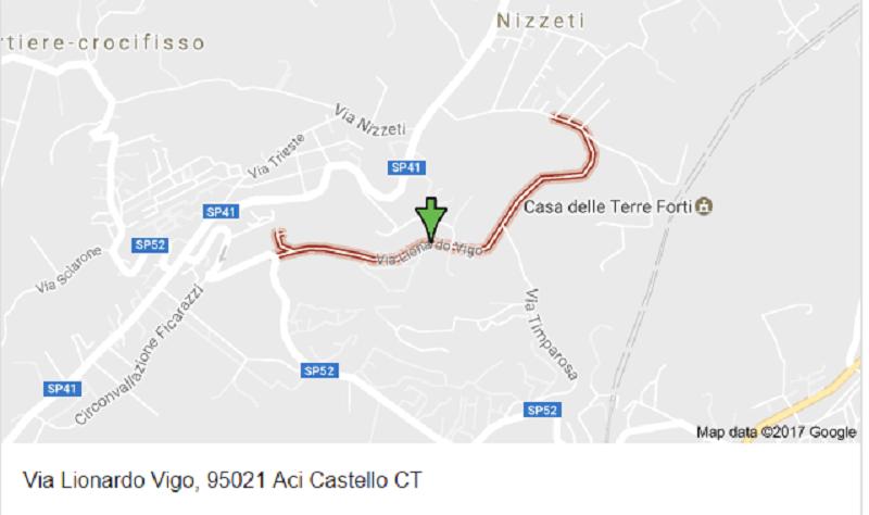 Aci Castello, lavori in via Vigo: si consigliano percorsi alternativi