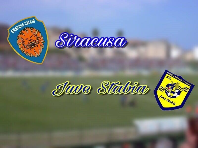 Il Siracusa prima va sotto di due, poi rimonta e vince: 3-2 con la Juve Stabia