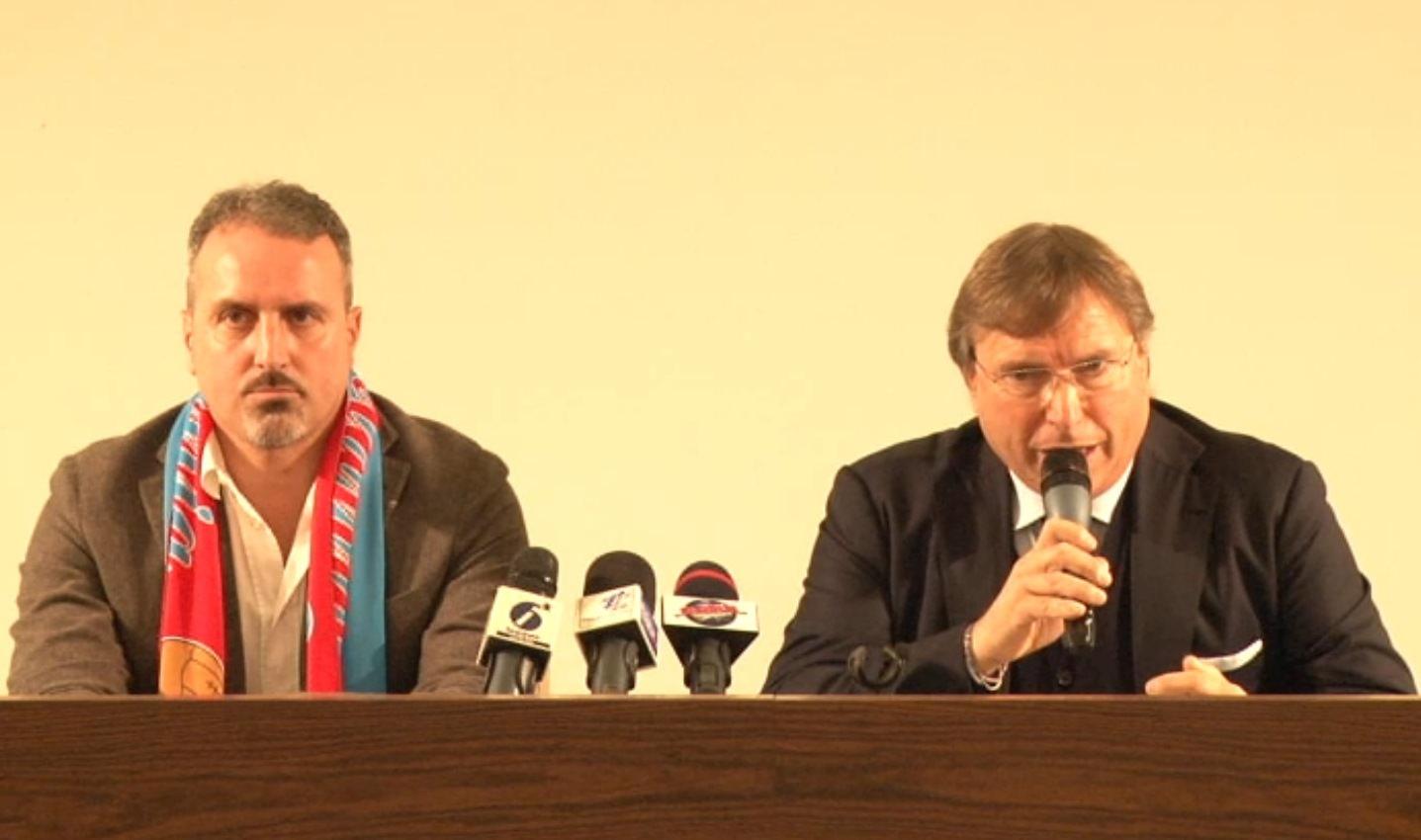 """Catania, Lo Monaco presenta Petrone: """"Logico puntare su di lui. Ripartiamo dopo la dolorosa sconfitta di Agrigento"""""""