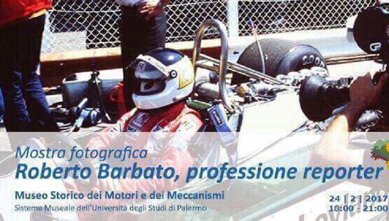 """Al Museo dei Motori di Palermo """"Roberto Barbato, professione reporter"""""""