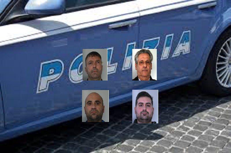 """Arrestati quattro affiliati al clan dei """"Cursoti"""" per estorsione"""