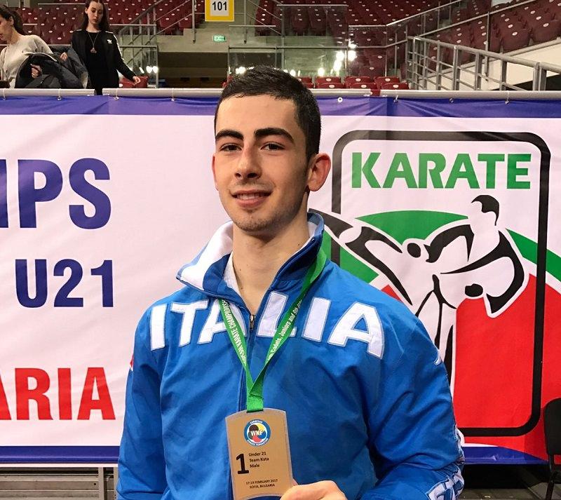 Ancora podio per Panagia: dopo l'argento di Parigi, oro ai campionati europei a squadre U21