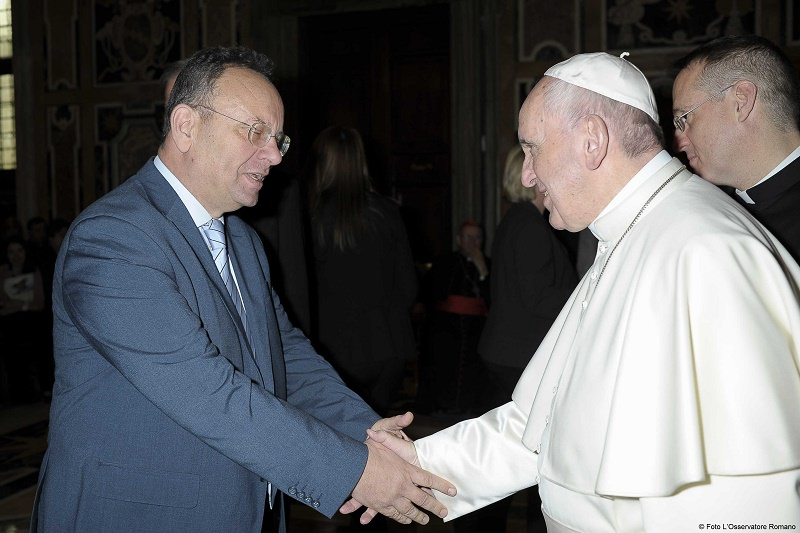 Benedizione di Papa Francesco alla diocesi di Ragusa