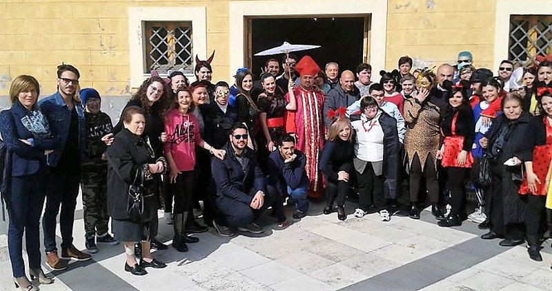 A Biancavilla Carnevale con l'associazione Insieme e il Servizio Civile