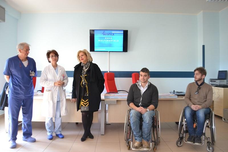 Nuovo sistema multimediale per i pazienti dell'ospedale Cannizzaro