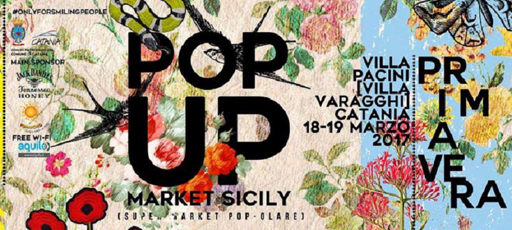 Pop Up Market Sicily a Villa Pacini…ed è subito primavera!