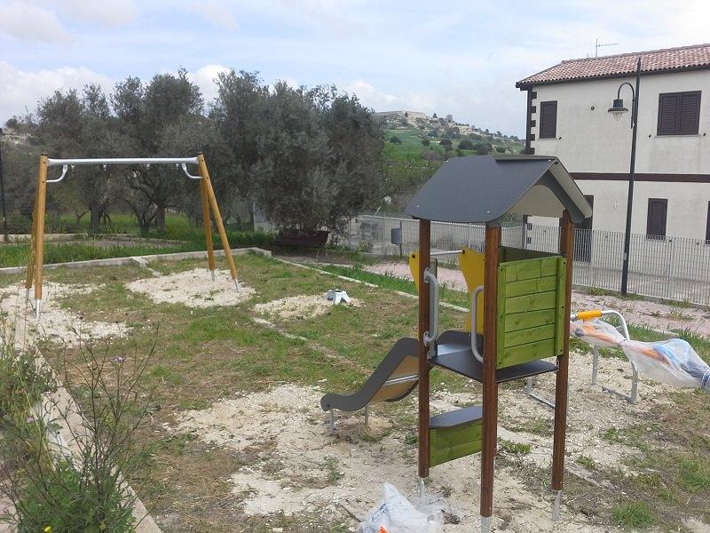 Ragusa, una bambinopoli nella villetta comunale di San Giacomo