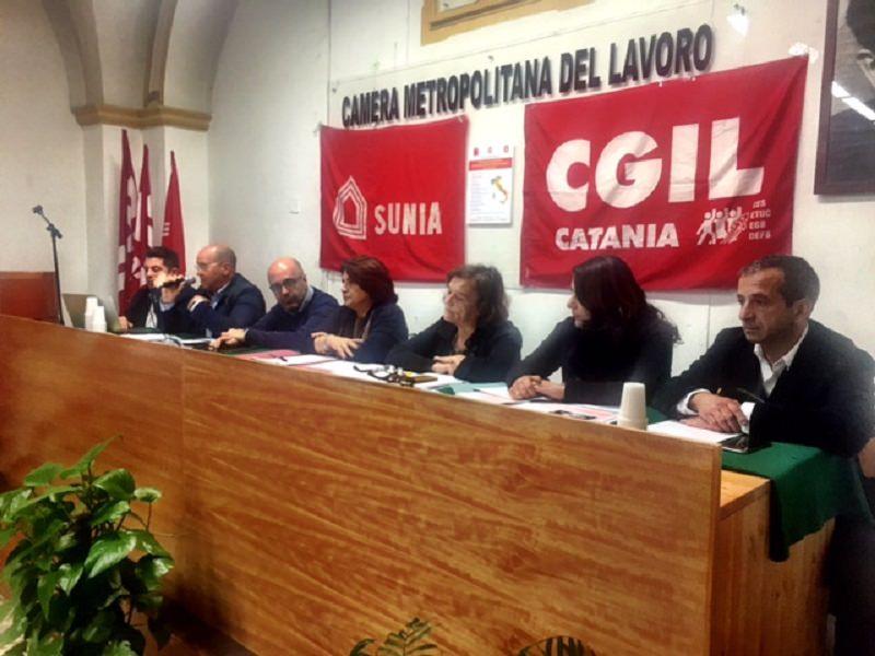"""Rischio sismico a Catania, Cgil, Sunia e Fillea: """"Bisognerebbe intervenire sull'85% degli edifici"""""""