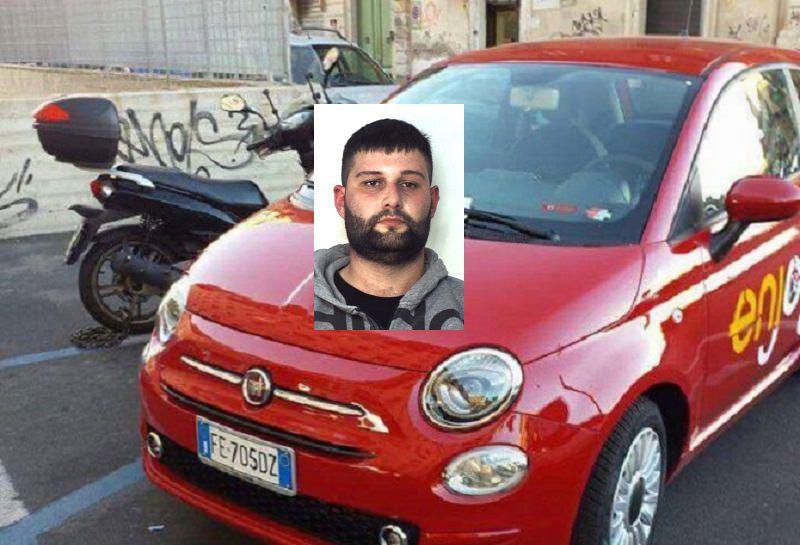 "Smantella Enjoy ""500"" vicino all'ospedale: arrestato 23enne"