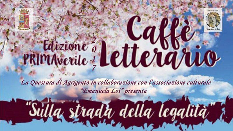 """""""Caffé letterario"""", torna l'evento culturale della questura di Agrigento"""