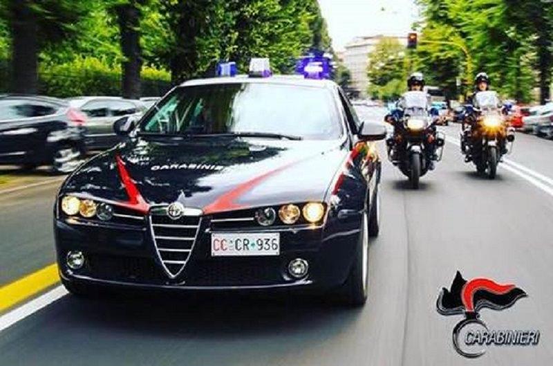 Non si ferma all'alt dei carabinieri: inseguimento per le vie di Licata. Arrestato 23enne