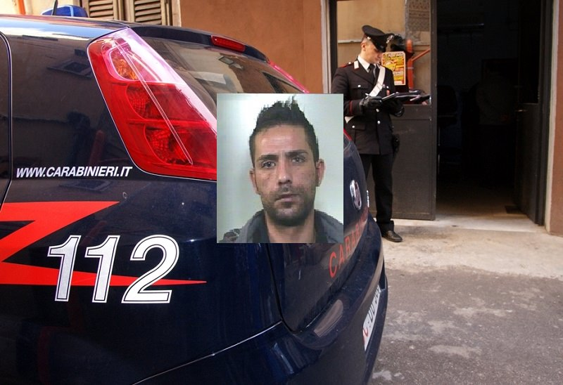 Latitante da 4 mesi, i carabinieri lo beccano in sala giochi