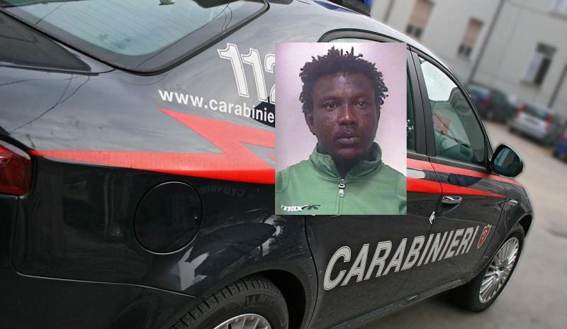 Rapina e spaccio: arrestato 31enne nigeriano sbarcato ieri ad Augusta