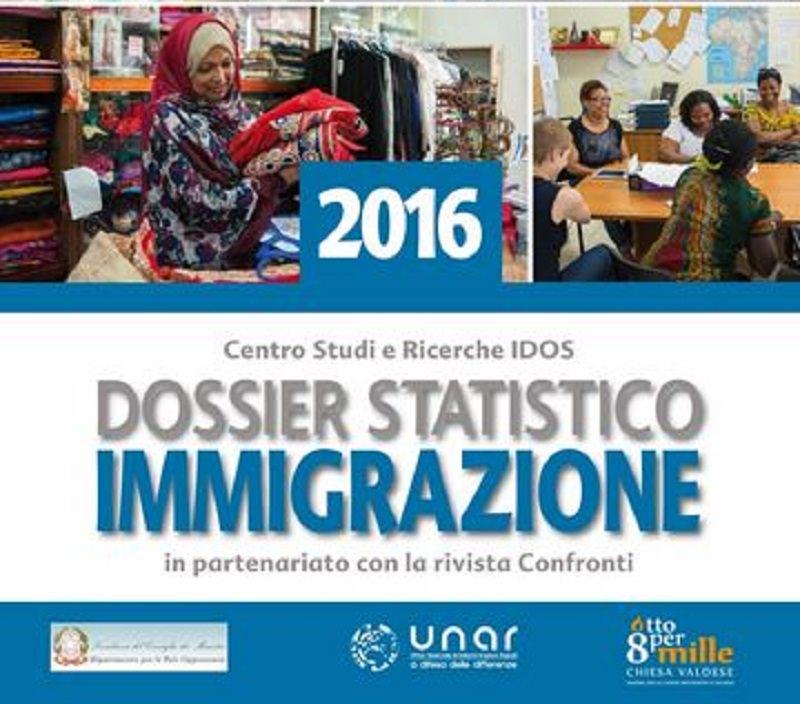 """Il Dossier Statistico sull'Immigrazione 2016 al centro dell'incontro """"Migrazioni, diritti e confini. Strategie europee e dimensioni locali"""""""