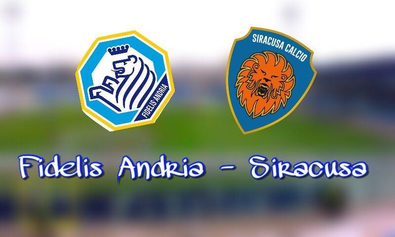 Il Siracusa è inarrestabile, Fidelis Andria sconfitta 0-1