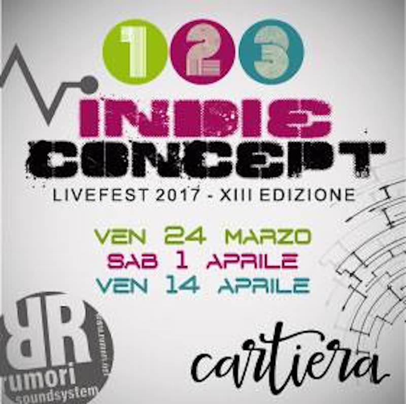 Al via la prima delle tre serate della XIII edizione dell'INDIE CONCEPT: rock festival siciliano per band emergenti