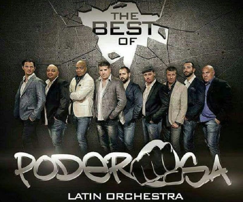 """The best of poderosa"", l'orchestra latina al Country di Palermo"