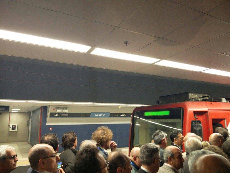 Metropolitana: inaugurata la nuova tratta Borgo-Nesima