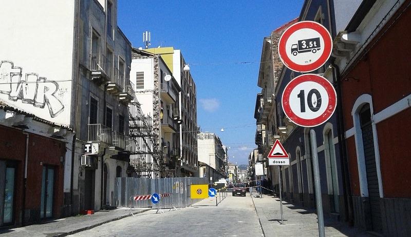 Catania, spiragli per l'apertura di via Crispi. E il Tondo Gioeni…