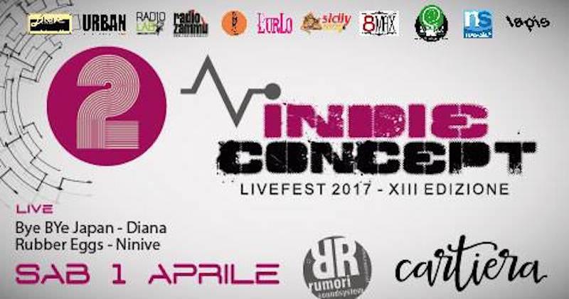 Domani la seconda serata della XIII edizione dell'Indie Concept, rock festival siciliano per band emergenti