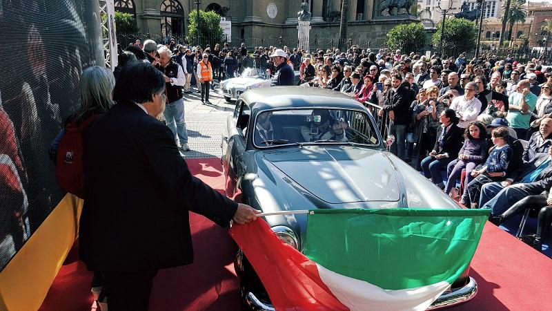"""Al via oggi in piazza Verdi la 101esima edizione della """"Targa Florio"""""""
