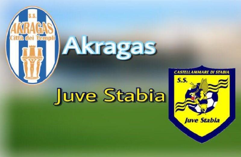 Akragas ko tra le mura amiche: all'Esseneto la Juve Stabia vince 3-1