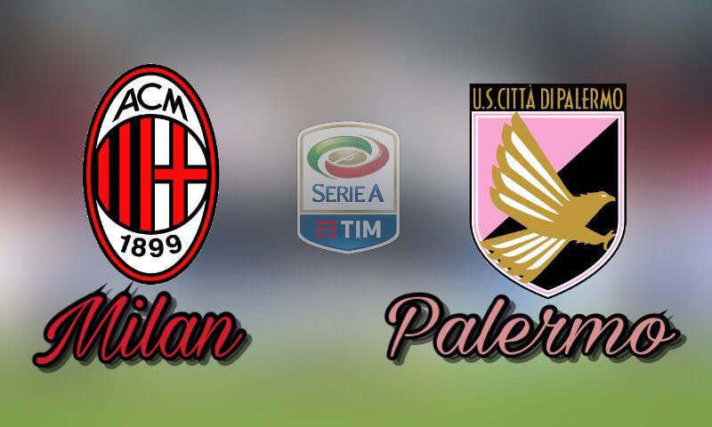 """Palermo, partita da incubo al """"Meazza"""": i rossoneri si impongono per 4-0"""