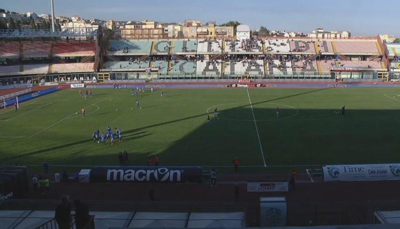 Catania 0-2 Cosenza, rivivi la cronaca testuale del match