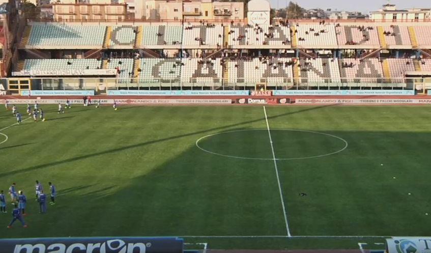 Catania 1-0 Virtus Francavilla, rivivi la cronaca testuale della partita