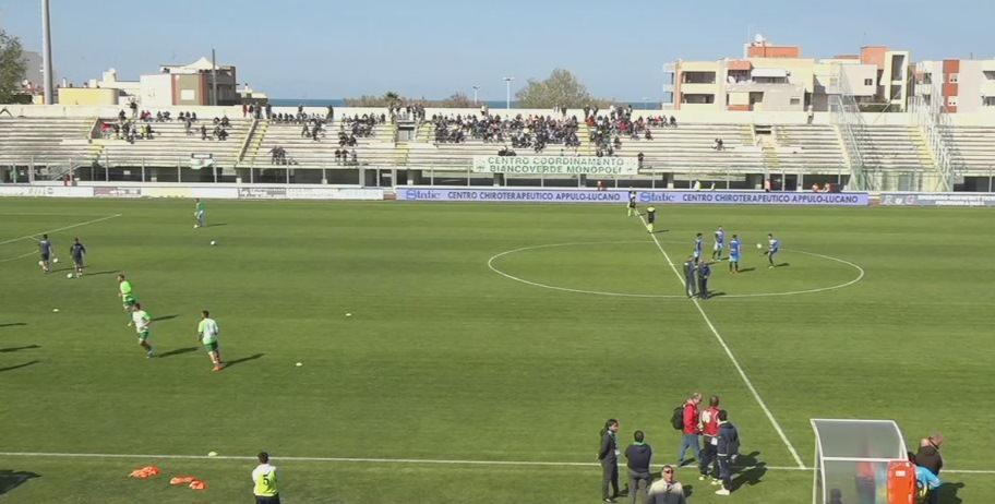 Monopoli 3-0 Catania, rivivi la cronaca testuale del match