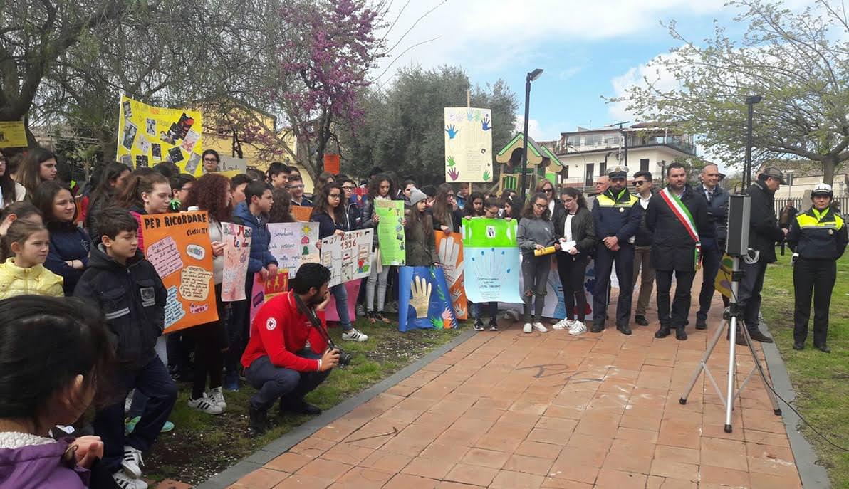 Tremestieri, manifestazione contro le mafie
