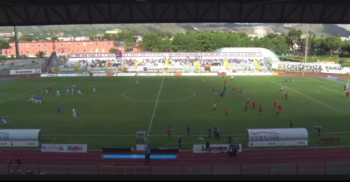 Casertana 0-0 Catania, rivivi la cronaca testuale della partita