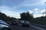 Autostrada A18, traffico da bollino rosso: chilometri di code, esodo in corso