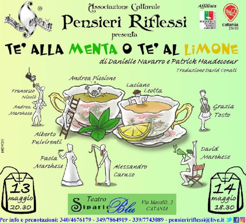 """La commedia """"Tè alla menta o tè al limone"""" conclude la stagione teatrale di Pensieri Riflessi"""