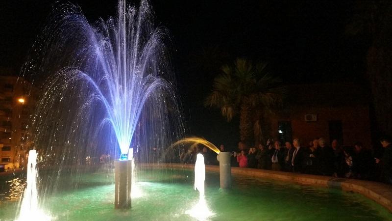 Palermo, ripristinata e valorizzata fontana del Giardino Inglese
