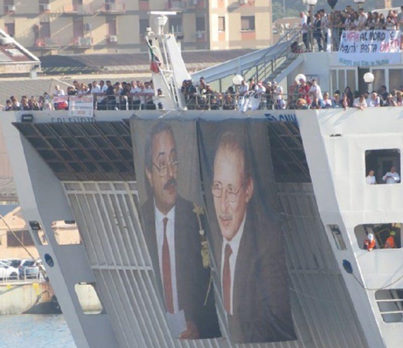 Da Civitavecchia a Palermo arriva la Nave della legalità: in ricordo della strage di Capaci