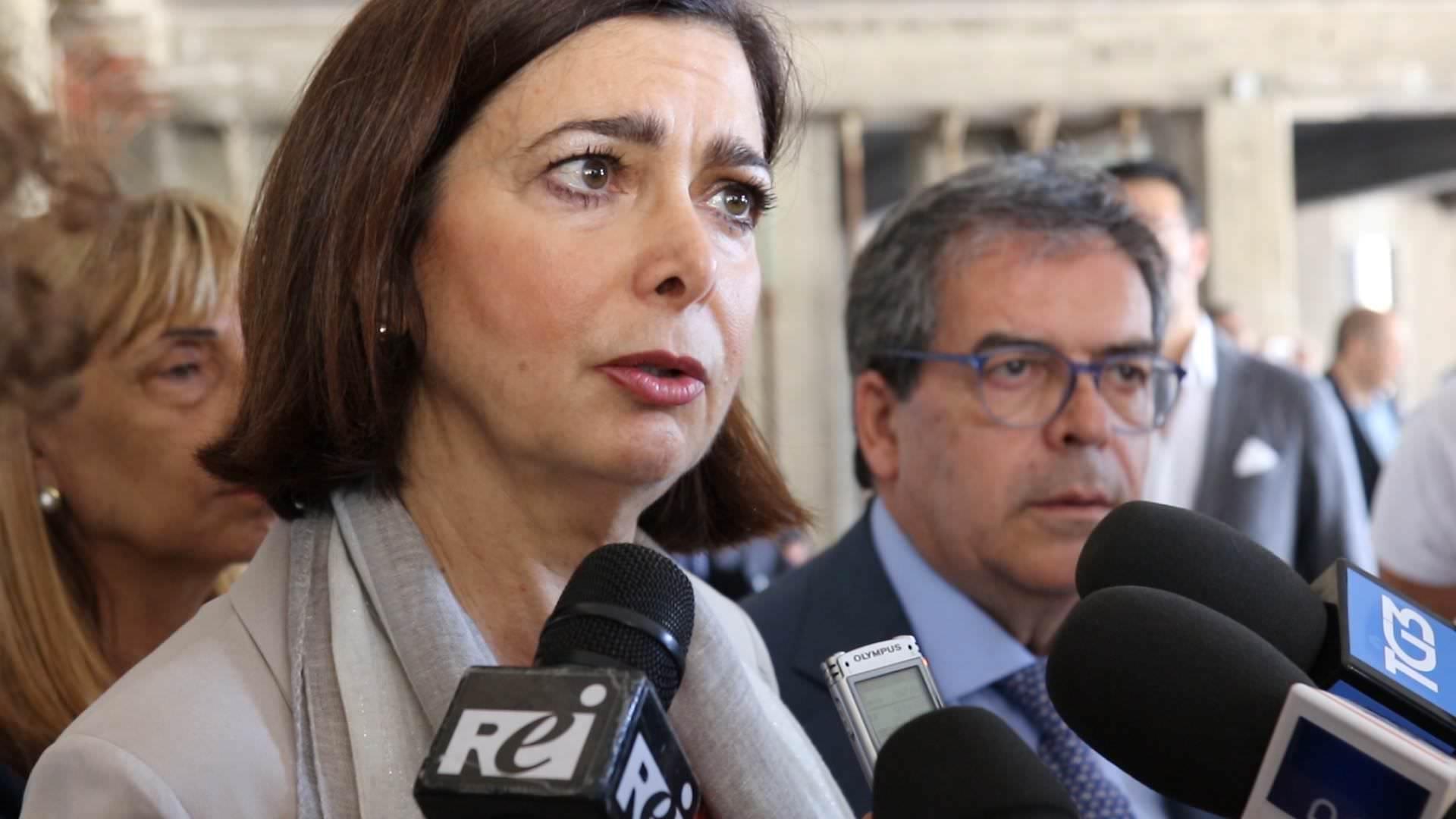 """Presidente Boldrini in visita a Librino: """"Lo Stato sia vicino al Sud e alle zone difficili delle città"""""""
