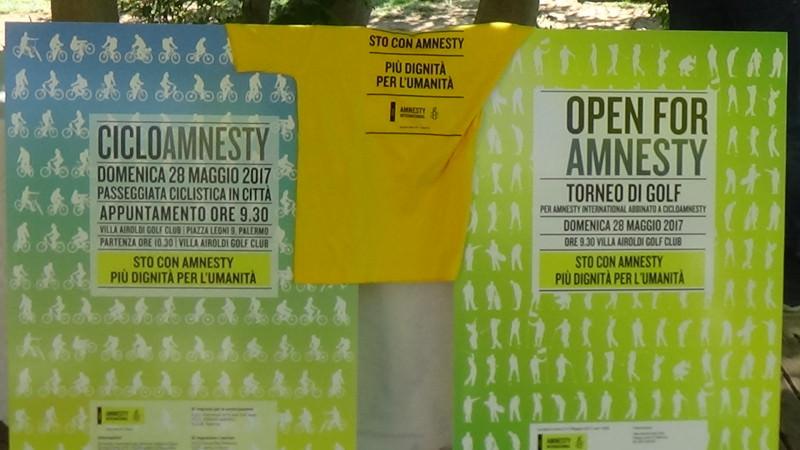 Amnesty International, il 28 maggio a Palermo celebrazione del 56° anniversario