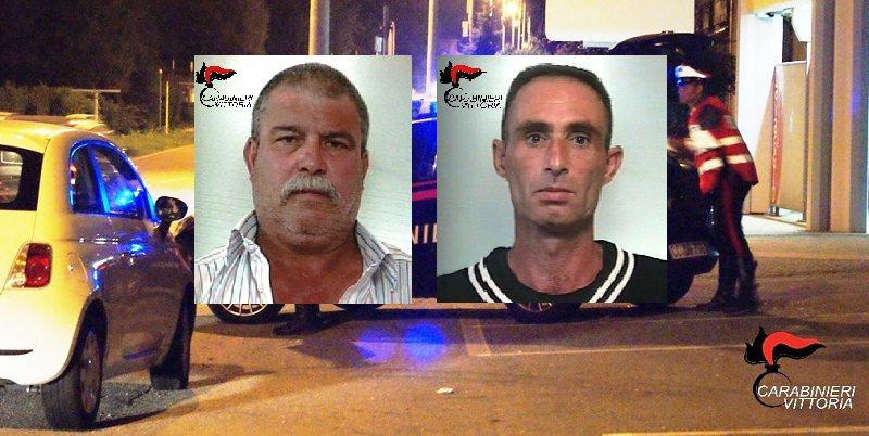 Controlli a tappeto nel Ragusano, arrestati anche due pregiudicati