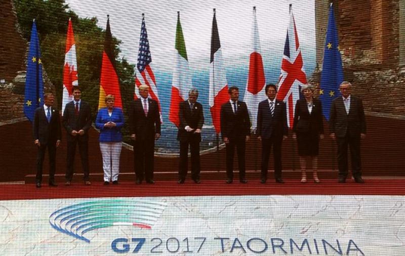 C'è già un accordo sottoscritto al G7 di Taormina