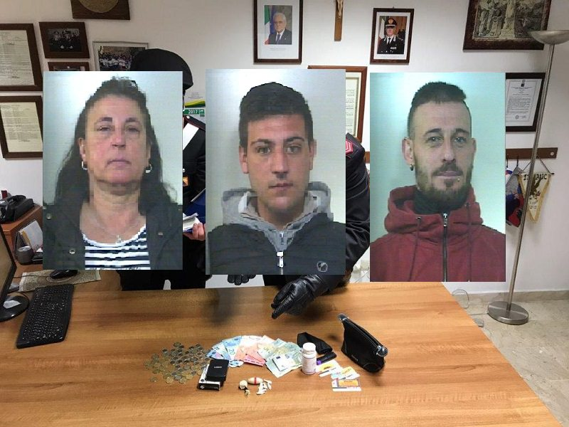 """Spacciavano e nascondevano eroina: arrestata la """"famiglia della droga"""""""