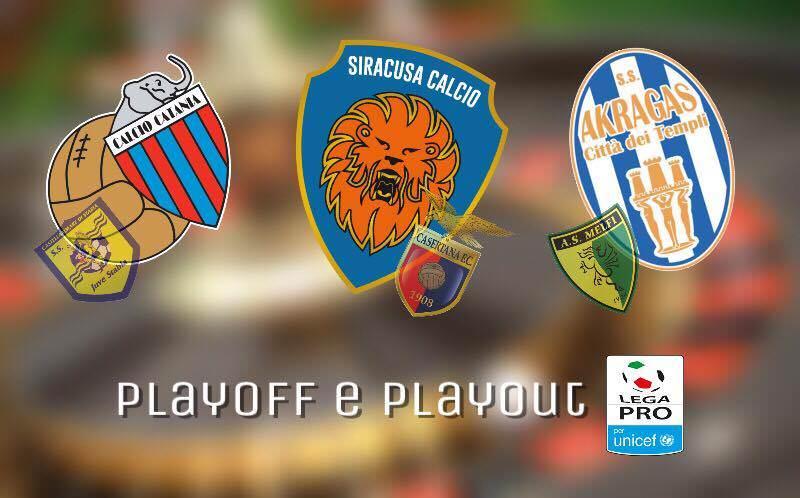 Lega Pro 2.0, parte la 'roulette' playoff-playout: quante speranze per Catania, Siracusa e Akragas?
