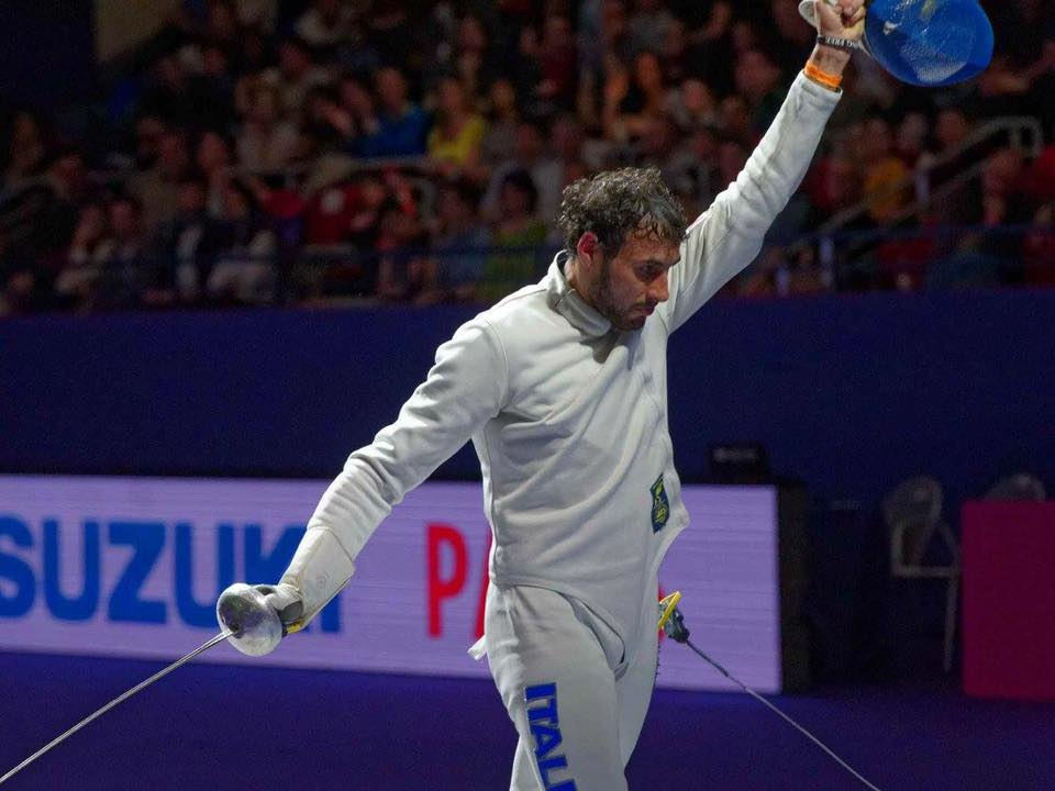 Marco Fichera vince a Parigi per la prima volta in Coppa del Mondo