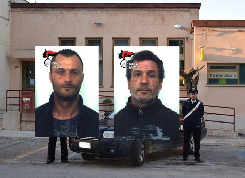 Si intrufolano in casa per rubare materiale edile e sanitari in ottone: due arresti