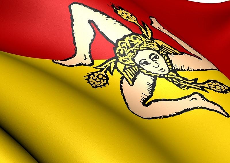 La Trinacria: mitologia e storia della bandiera siciliana