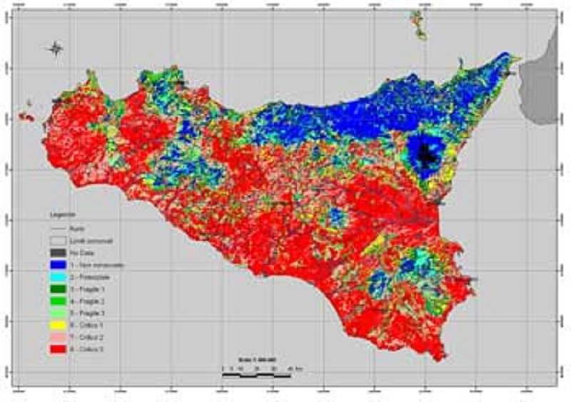 Desertificazione in Sicilia: domani il via a gruppo di lavoro per il contrasto