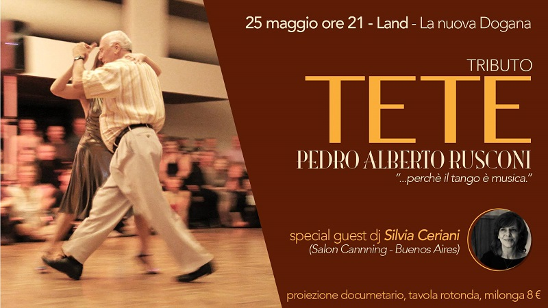 """Omaggio a Tete con """"Los Pasos de Tete"""": l'evento tanghero per """"vivere la musica"""""""